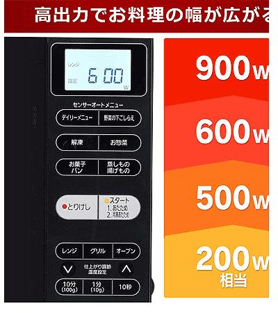 アイリスオーヤマの電子レンジ比較