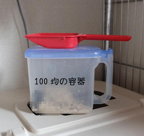 100均の容器